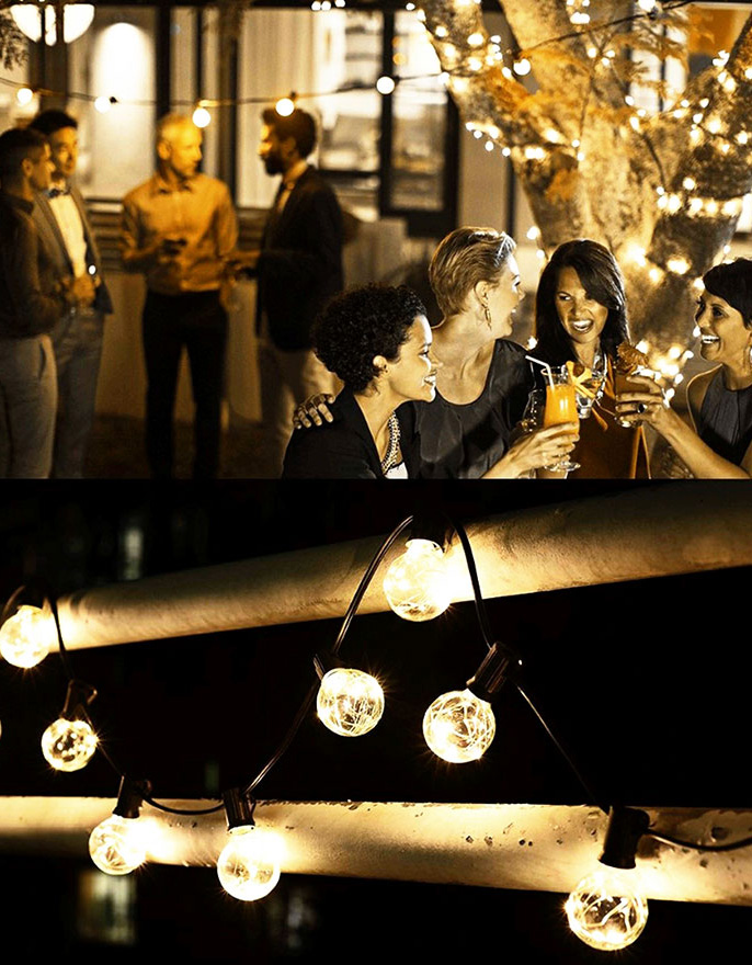 ILED commercial festoon string lights manufacturer for indoor-3