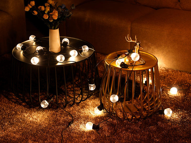 G50 Festoon String Lights Low Voltage Commercial Christmas Wedding Lighting