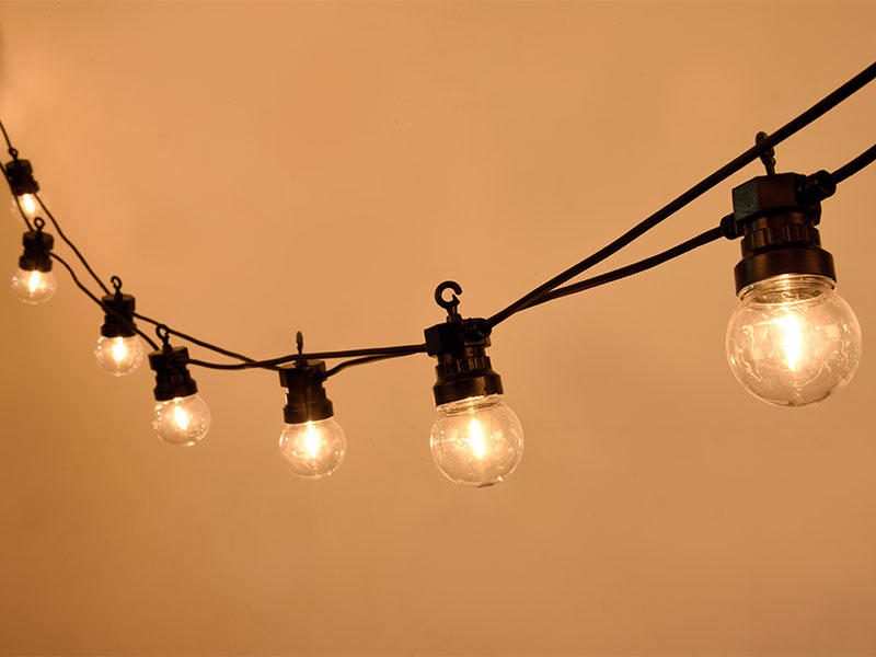 ILED commercial led string lights manufacturer for outdoor
