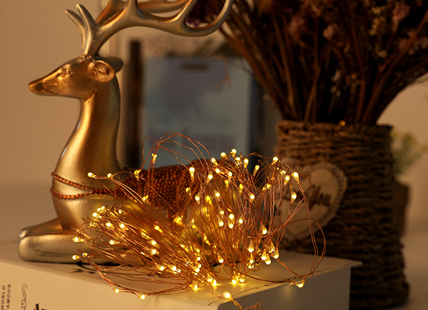 ILED operated plug in fairy lights manufacturer for christmas-5
