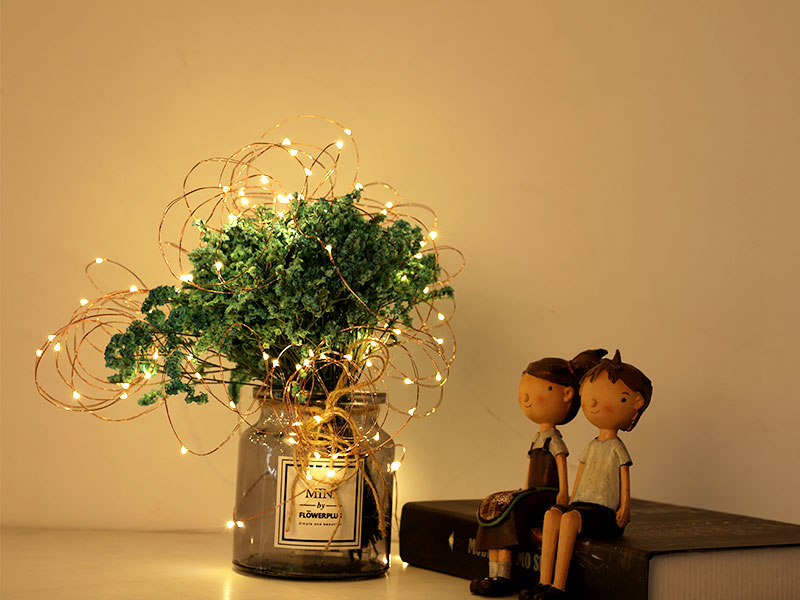 ILED starry battery operated fairy lights manufacturer for Christmas-1