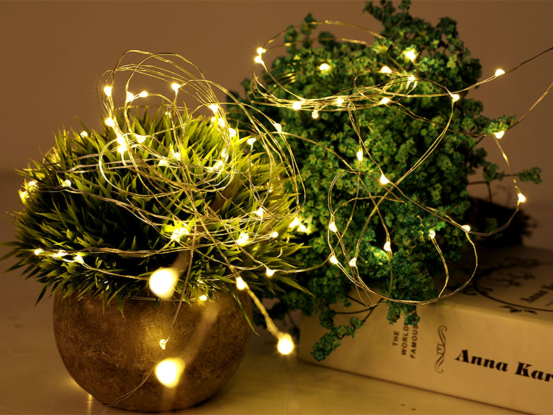 ILED starry battery operated fairy lights manufacturer for Christmas-2