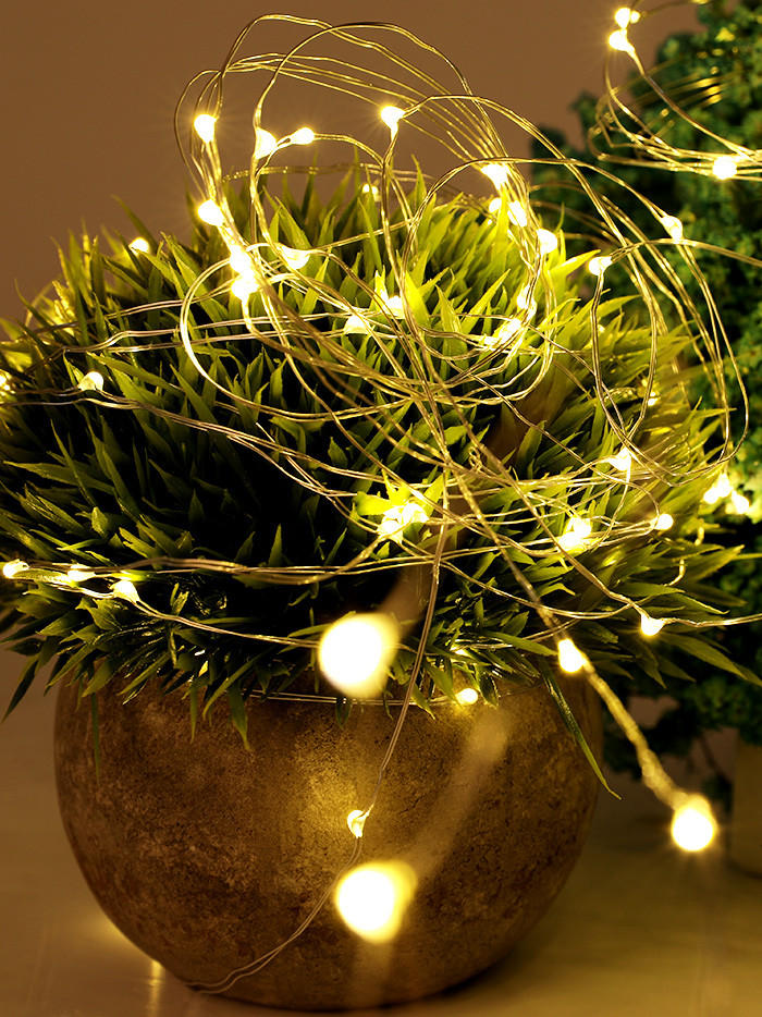 ILED battery christmas lights customized for indoor-3