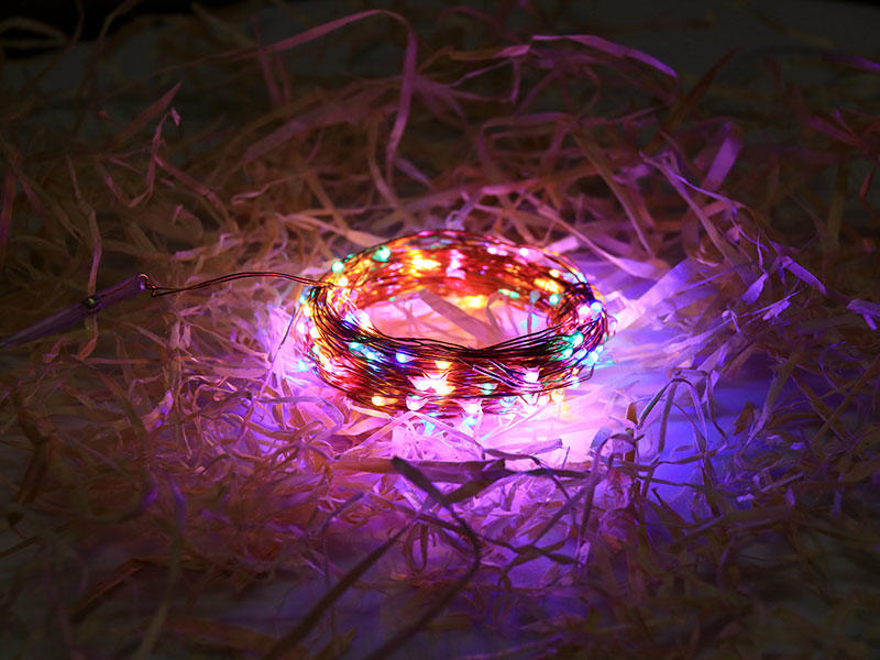 ILED waterproof copper wire lights battery operated supplier for decoration