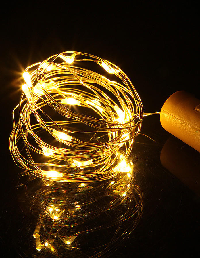 powered copper wire lights battery operated supplier for Christmas