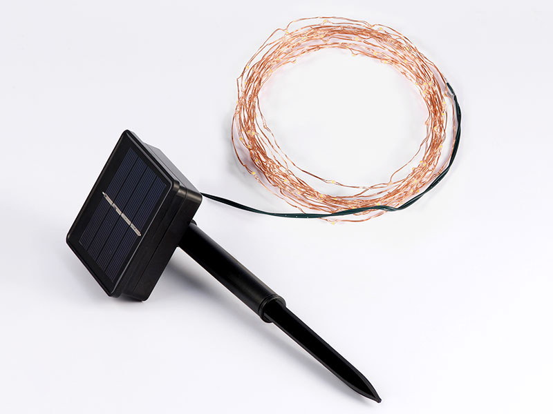 ILED solar copper wire string lights supplier for household-1
