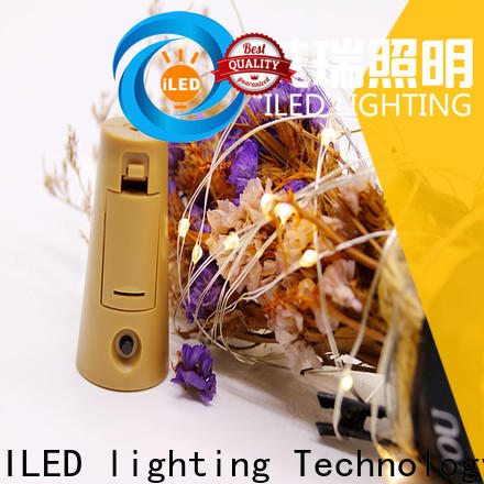 ILED remote battery string light manufacturer for Christmas