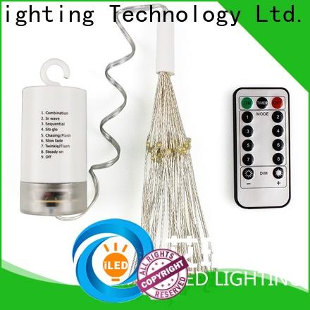 ILED battery operated outdoor christmas lights personalized for decoration