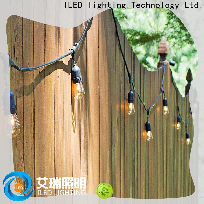 ILED plug in festoon lights design for patio