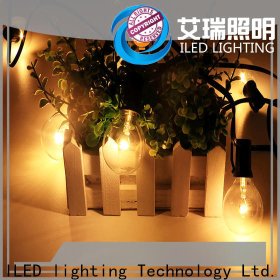 ILED coloured festoon lights design for outdoor