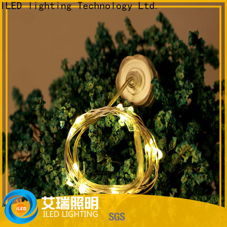 ILED starry battery wire lights lamp for indoor