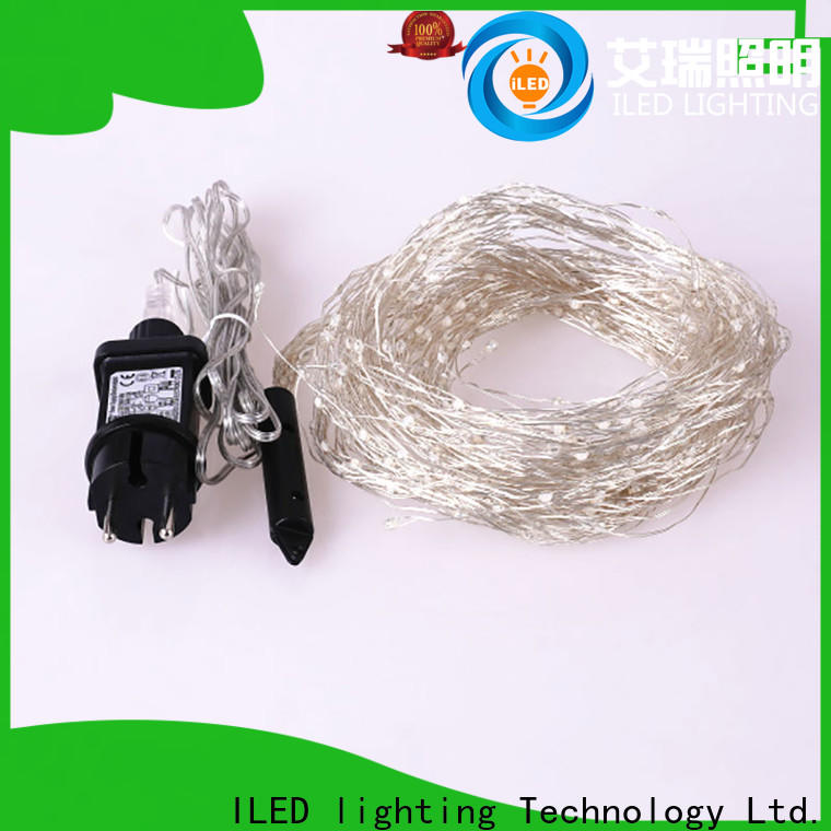 ILED plug in wire fairy lights customized for weddings
