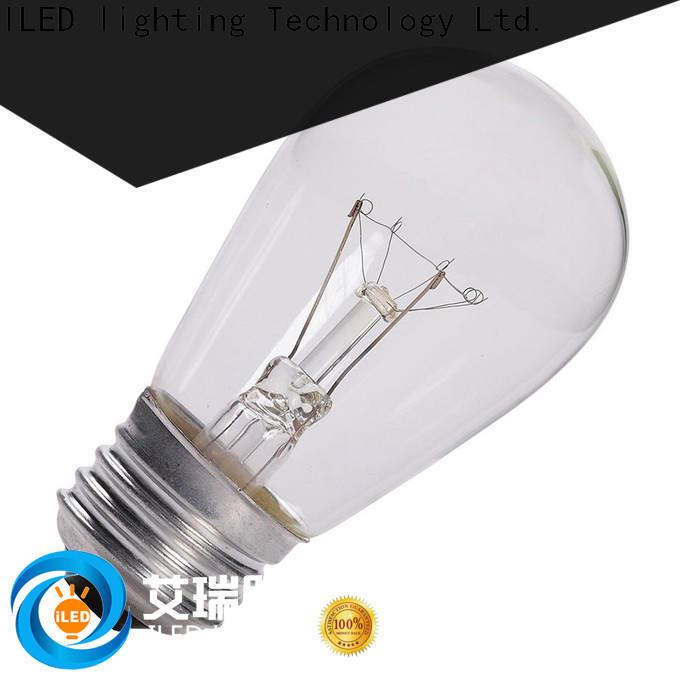 ILED standard edison bulb supplier for restaurant