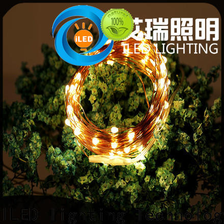 remote battery operated wire lights supplier for Christmas