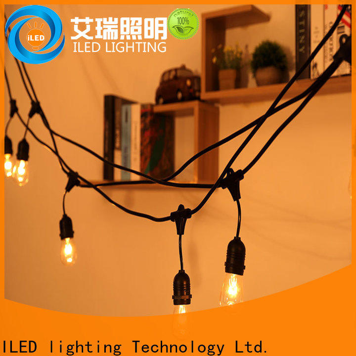 144m backyard string lights manufacturer for patio