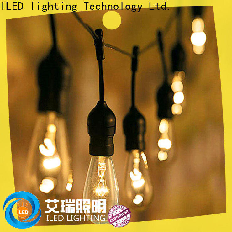 festival decorative string lights supplier for patio