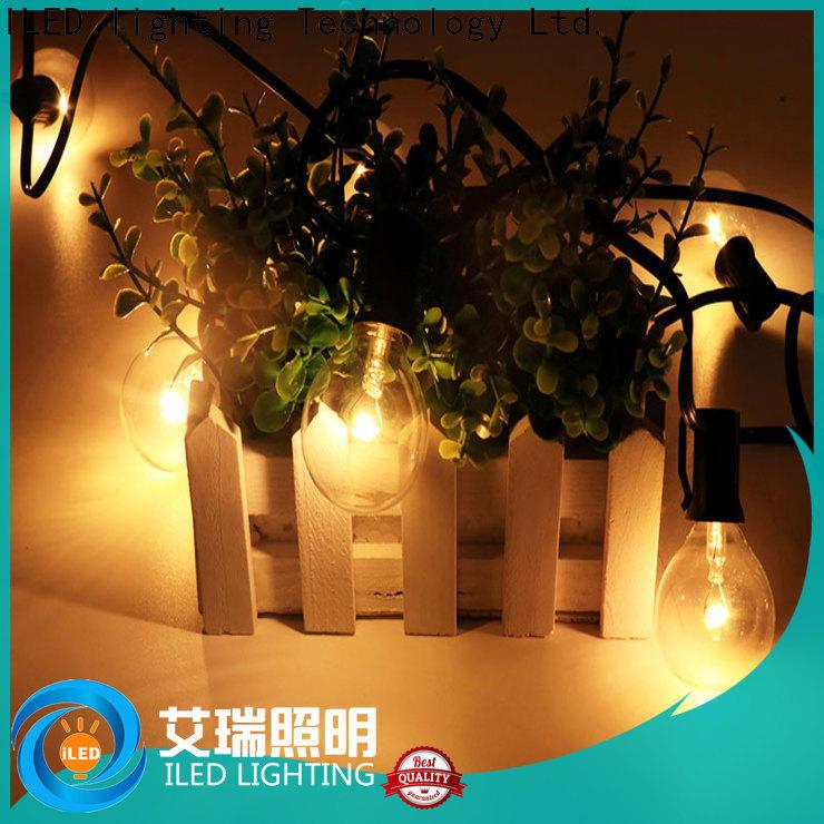 ILED warm commercial led string lights manufacturer for outdoor