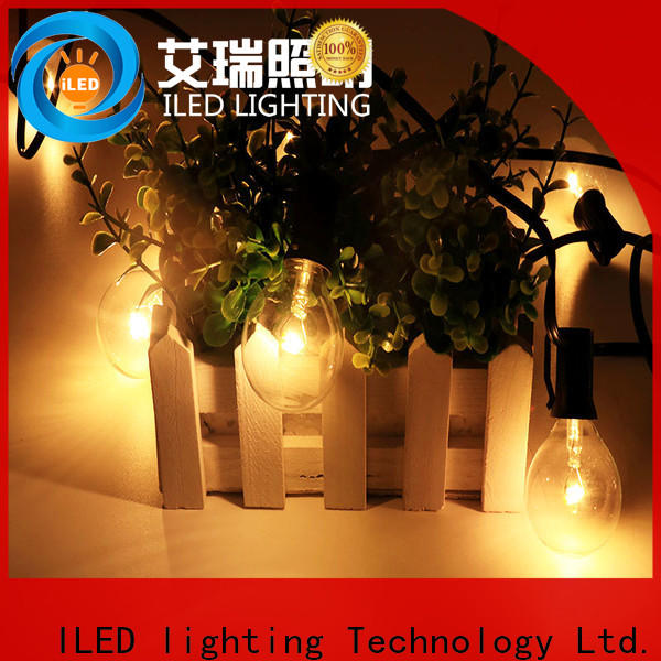 standard commercial string lights supplier for outdoor