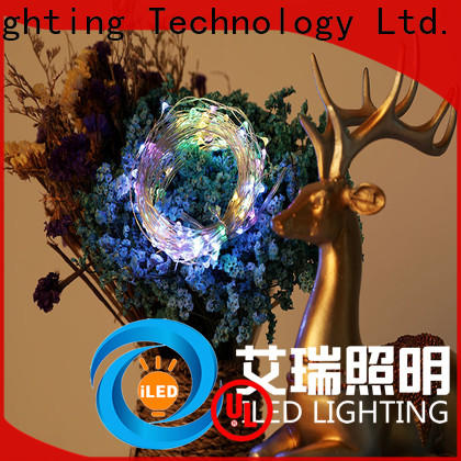 ILED 10m copper wire fairy lights manufacturer for decoration
