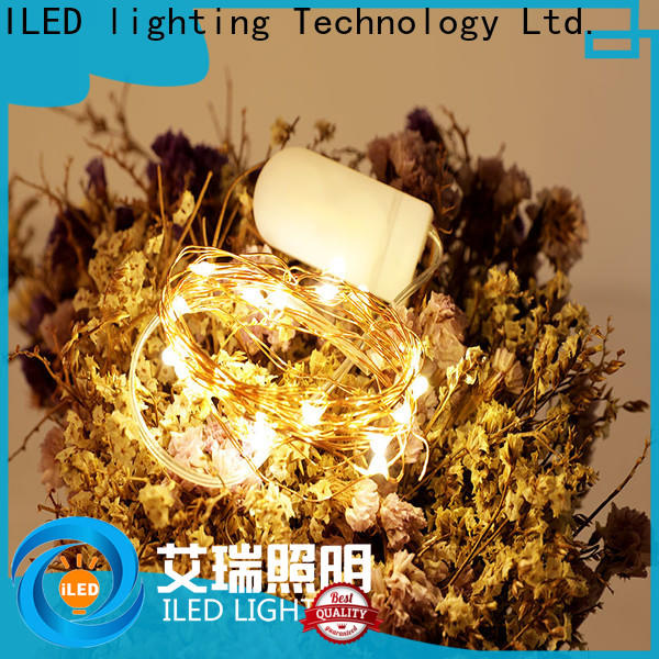 ILED battery operated wire lights lamp for party