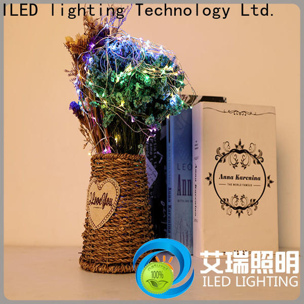 ILED battery string light lamp for party