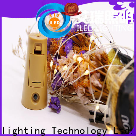 ILED copper wire lights battery operated lamp for indoor