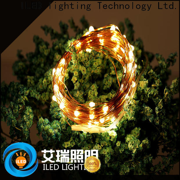 ILED starry battery operated wire lights customized for bistro