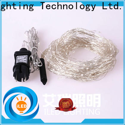 ILED operated plug in twinkle lights lamp for weddings