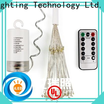 ILED waterproof battery wire lights manufacturer for indoor
