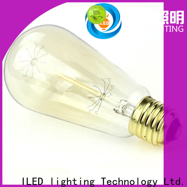 pendant edison style light bulbs personalized for cafe