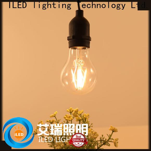 ILED energy saving light bulbs design for wedding