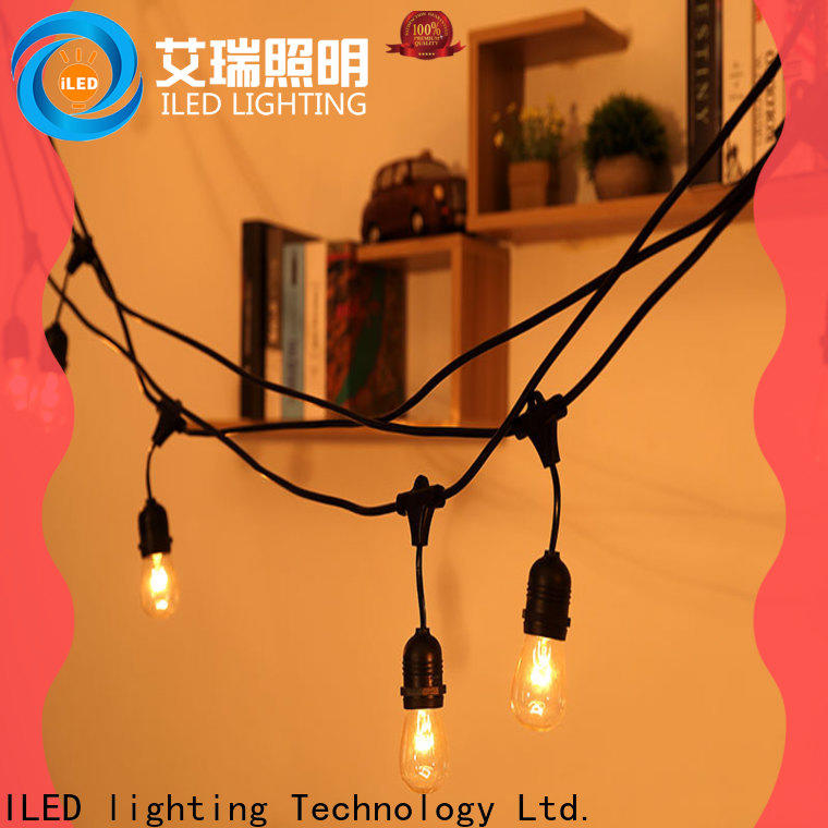 ILED hanging garden string lights supplier for patio