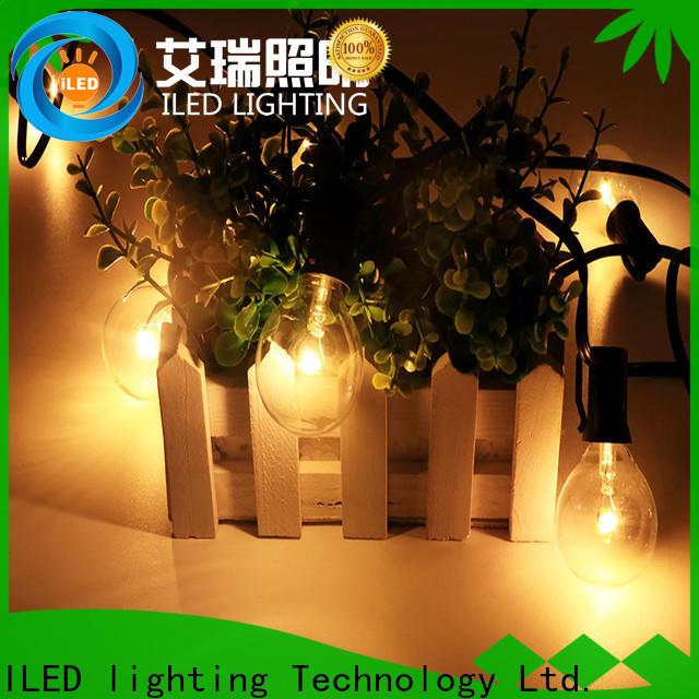 ILED commercial led string lights supplier for wedding