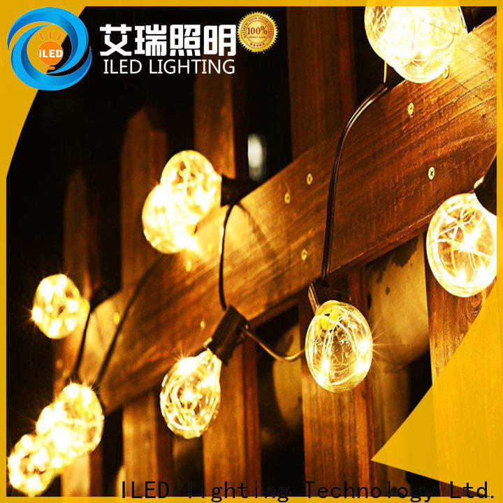 ILED commercial festoon string lights manufacturer for indoor