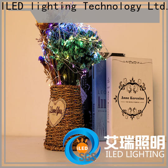 ILED powered battery string light customized for outdoor