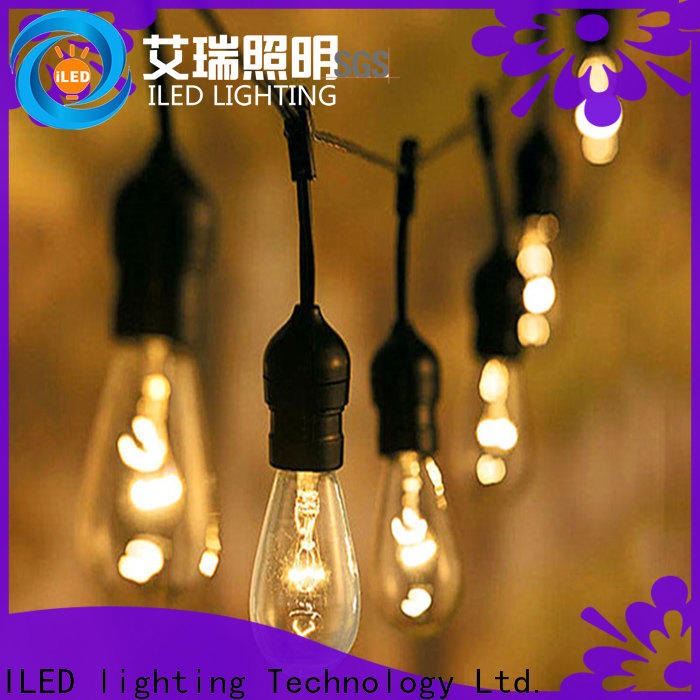 ILED backyard string lights supplier for party