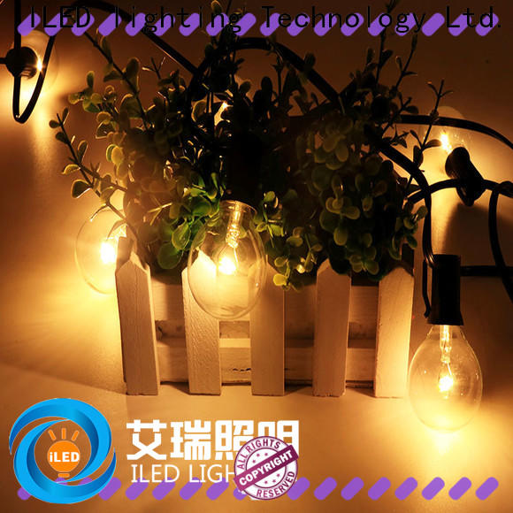 ILED commercial string lights supplier for outdoor