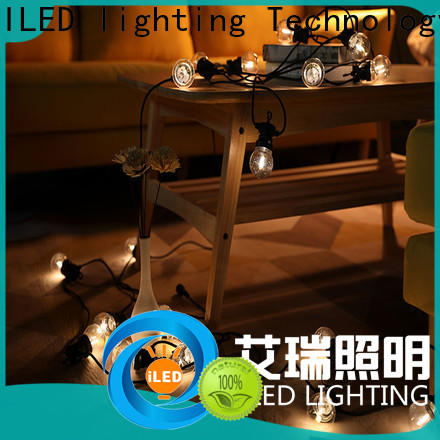 ILED white commercial string lights supplier for indoor