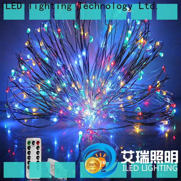 ILED copper christmas lights manufacturer for wedding