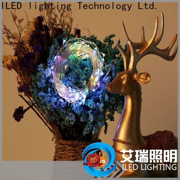 ILED remote led wire string lights series for wedding