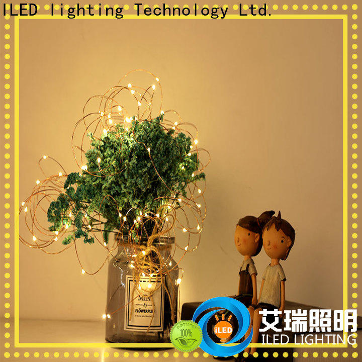 ILED starry battery operated fairy lights manufacturer for Christmas