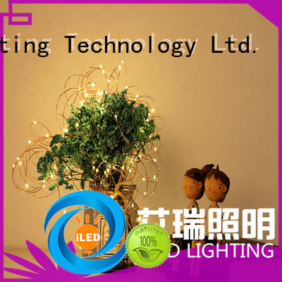 ILED battery wire lights manufacturer for indoor