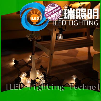 ILED white festoon string lights manufacturer for wedding