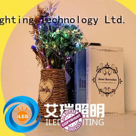ILED powered battery led string lights supplier for wedding