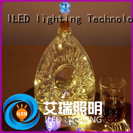 ILED led wire string lights supplier for party