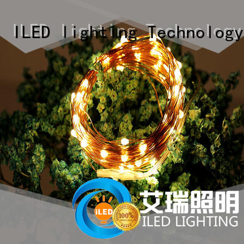 ILED battery wire lights lamp for outdoor