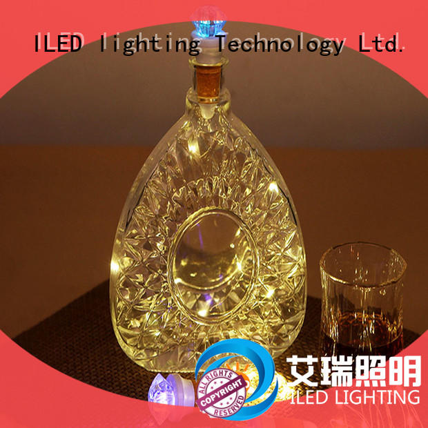 ILED durable copper wire fairy lights supplier for christmas