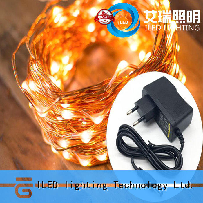 ILED plug in wire fairy lights lamp for household
