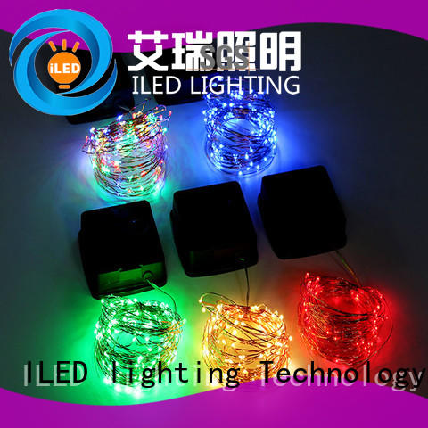 professional outdoor copper string lights manufacturer for household ILED