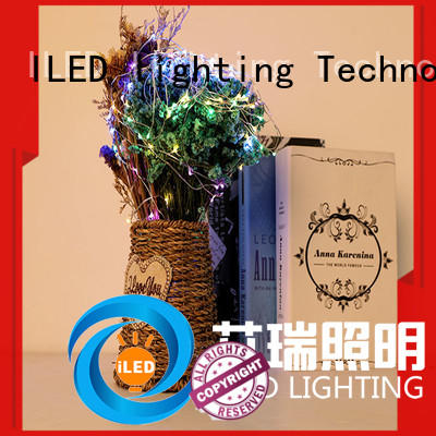 battery operated outdoor string lights firecracker for decoration ILED